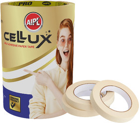 AIPL CELLUX  High Grade self adhesive Multi purpose masking tape Adhesive