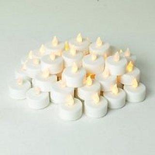 Set of 2 led tea light candles