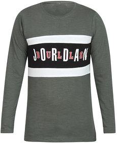 Hope Quay Men's Round Neck Full Sleeves T-Shirt Multi-Coloured