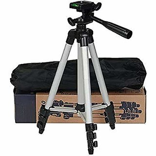 3110 Tripod Stand for Phone and Camera Adjustable Aluminium Alloy Tripod Stand Holder for Mobile Phones  Camera,Photo/V