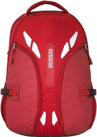 American Tourister Snap Plus 01 37 L Laptop Backpack  (Red)