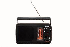Santosh Five Band Portable FM Radio (Models May Vary)