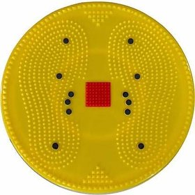 Liboni 5 in 1 Slim  Fit Twister Dynamic Acupressure Disc (Yellow) Ab Exerciser  (Yellow)