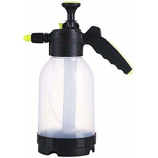 House of Quirk Garden Pump Pressure SprayerLawn SprinklerWater Mister for Herbicides, Pesticides, Fertilizers (White)