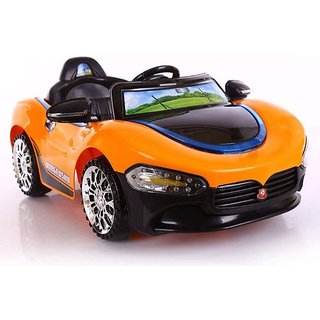 OH BABY'' BABY BATTERY OPERATED MASERA   CAR WITH 2 MOTOR AND 2 BATTERY WITH MUSIC AND REMOTE WITH FULL OF LIGHT  RIDE O