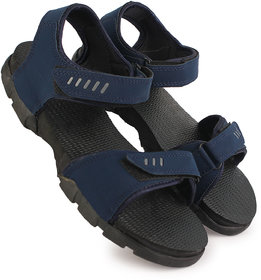 Richale Black Blue Sandal For Men