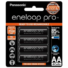 Panasonic Eneloop Bk 3HCCE /4BN Rechargeable Battery Pack of 4