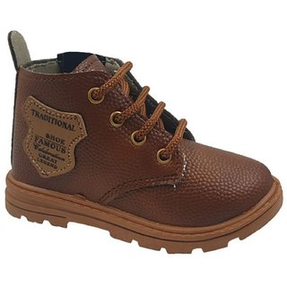 Onbeat Kids Casual Brown Boots