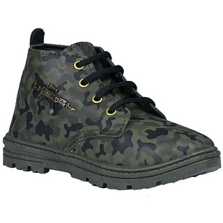 Onbeat Kids Army Shoes