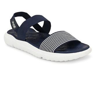 Bucik Blue Slip on Sandals For Men