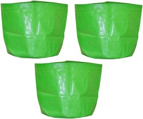NutriMax HDPE 200 GSM Plant Growbag 24 Inch x 24 Inch Pack of 3