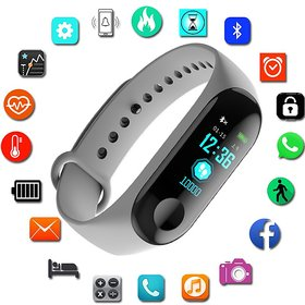M3 Smart Bracelet Smart Watch Heart Rate Monitor Bluetooth Smartband Health Fitness Smart Intelligence Band for Android