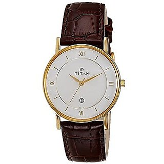 Titan Men Classic Analog Watch - 9162YL01
