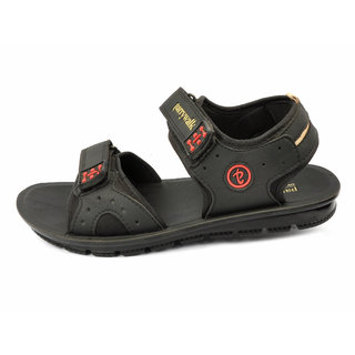 PARRYWALK PWG-025 Men's Black Casual Sandal