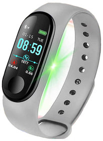 M3 Smart Fitness Band Activity Watch Heart Rate Sensor Silicon Band