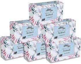 Mirah Belle - Organic Goat Milk, Patchouli Healing Soap Bar125gm (Pack of 6) - Blemished, Acne  Infection Prone Skin.