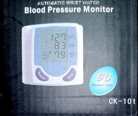 Automatic Wrist Watch BP Monitor