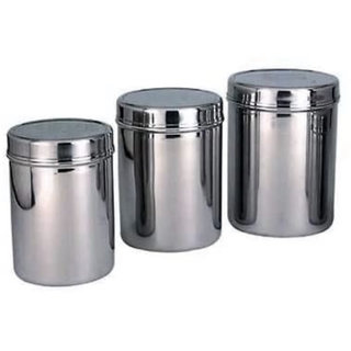 Hemant steel Container set of 3 is having ideal size of 11inch,12 inch and 13 inch diameter .This is perfectly fit your