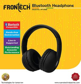 Frontech Bluetooth Over the Ear Headphone (HF-0008)