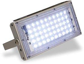 LED Floodlight 50 Watt Brick Ultra Thin Slim Metal Flood Outdoor light Waterproof