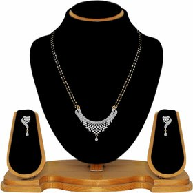Myra Jewellery Alloy Mangalsutra Set For Women  Girls