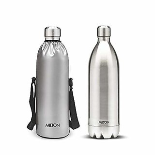 Milton Duo 1500 Dlx Stainless Steel Flask 1500Ml Silver
