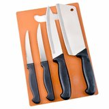 COLLISION Knives Set   Stainless Steel Knives Set with Chopping Board