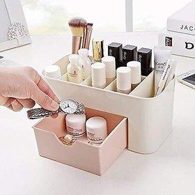 COLLISION Makeup Organizer- 6 Grid Desktop Organizers with Drawer