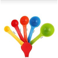 Measuring Spoons  Plastic Measuring Spoons Set of 5, Mu