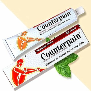 Counter Pain Muscular Pain relief balm 120g Pack of 1