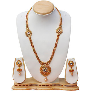 Dream on Gold plated necklace set for women's
