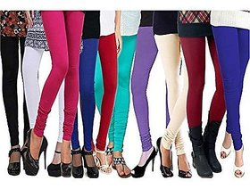 Fashion fobia Multicolured leggings set of 10