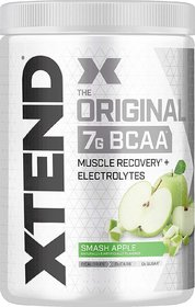BCS Xtend BCAAs (Pre-Workout, 7g BCAAs, 0g Carbs,Sugar  Calories, 3.5 Leucine, 2.5g L-Glutamine, 1g Citrulline Malate)