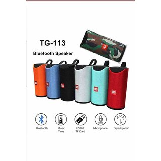 Digimate TG113 Portable Wireless Bluetooth Speaker (10 W, Assorted)