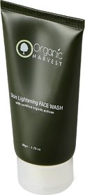 Organic Harvest Face Wash for Skin Lightening, 50gm