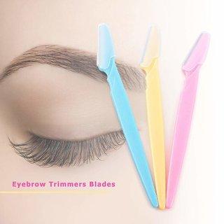 3 PCS Eyebrow Razor Kit, Face  Eyebrow Hair Shaper Razor Knife Shaver Trimmer Shaving Grooming Remover Kit