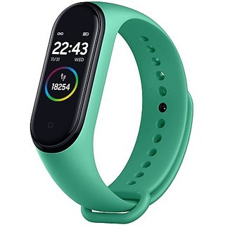 Splash Proof OLED Fitness Bluetooth Smart Band (M4) with Almost All Activity Sensors Supported for Both Kids and Adult