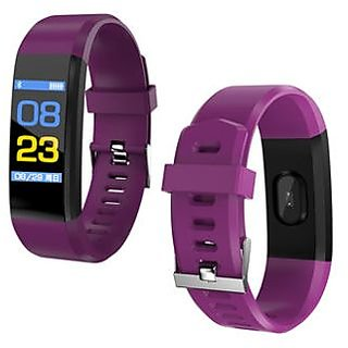 Bluetooth Wireless Fitness Tracker ID115 Comfortable Band for Gymming, Running, Jogging, Playing, Etc