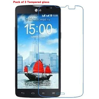 Nainaan Tempered Glass For LG L80  With Free Offer