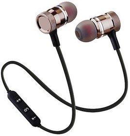 Wireless Magnetic In the Ear Bluetooth Headset 3 Months Seller Warranty Black  Red