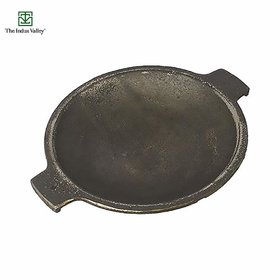 The Indus valley Cast Iron Appam Pan/Large / 9 Inch / 1.7Kg