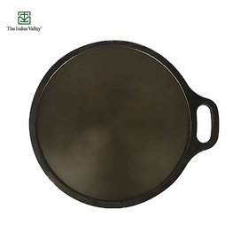 The Indus Valley Super Smooth Cast Iron Tawa / 12 Inch / 2.8Kg
