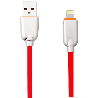 Digimate  USB Fast Charging Cable Compatible with All ios Devices-Red
