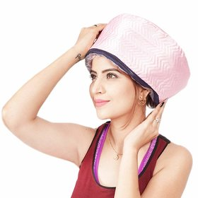 Trendy Trotters HAIR Thermal Steamer Treatment SPA Cap Nourishing Care Hat New Beauty Steamer Cap For Hair Steamer
