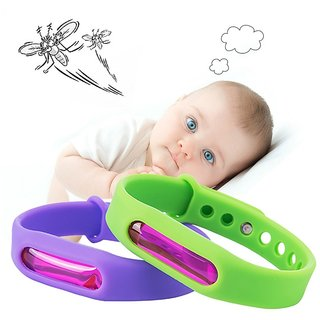 GRAIYT Mosquito Killer Silicone Wristband Mosquito Repellent Bracelet Anti Mosquito Band FOR KIDS AND ADULTS (PACK OF 4)