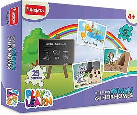 Funskool Play and Learn Animals and Their Homes