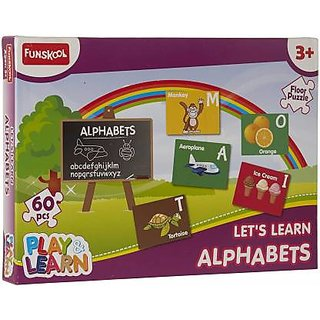 Funskool Alphabets Puzzles Learning Game