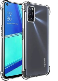 Mikko Transparent cover, Shockproof Bumper for Oppo A52