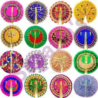 Laddu Gopal Dress Set for God Krishna (Ladoo Gopal Poshak) Mix Colors (Size 0 no Qty 5)