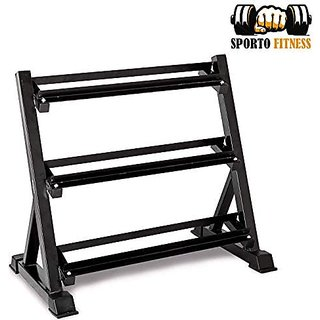 Sporto Fitness Home Gym Dumbbell Rack Stand Without Dumbbell